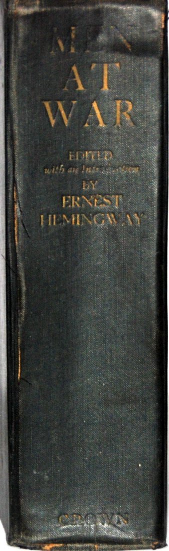 Ernest Hemingway: Men at War, First Edition