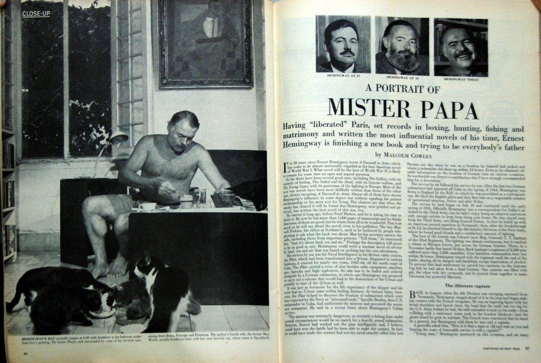 Life Magazine: A Portrait of Mister Papa, 1949