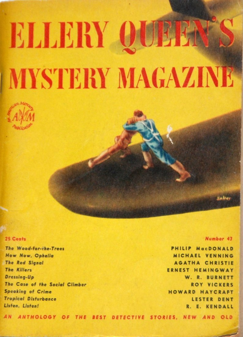 Ellery Queen's Mystery Magazine: June 1947