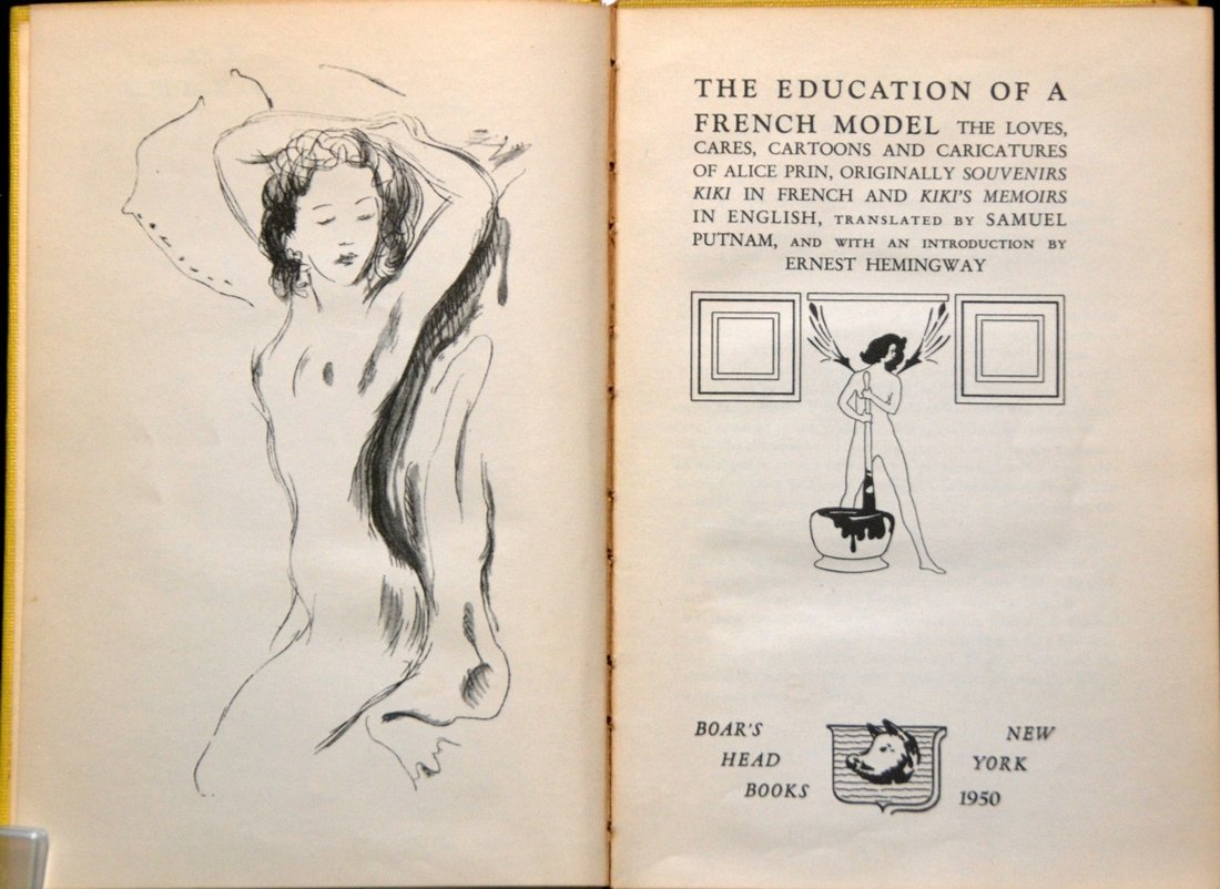The Education of a French Model, Edited by Hemingway