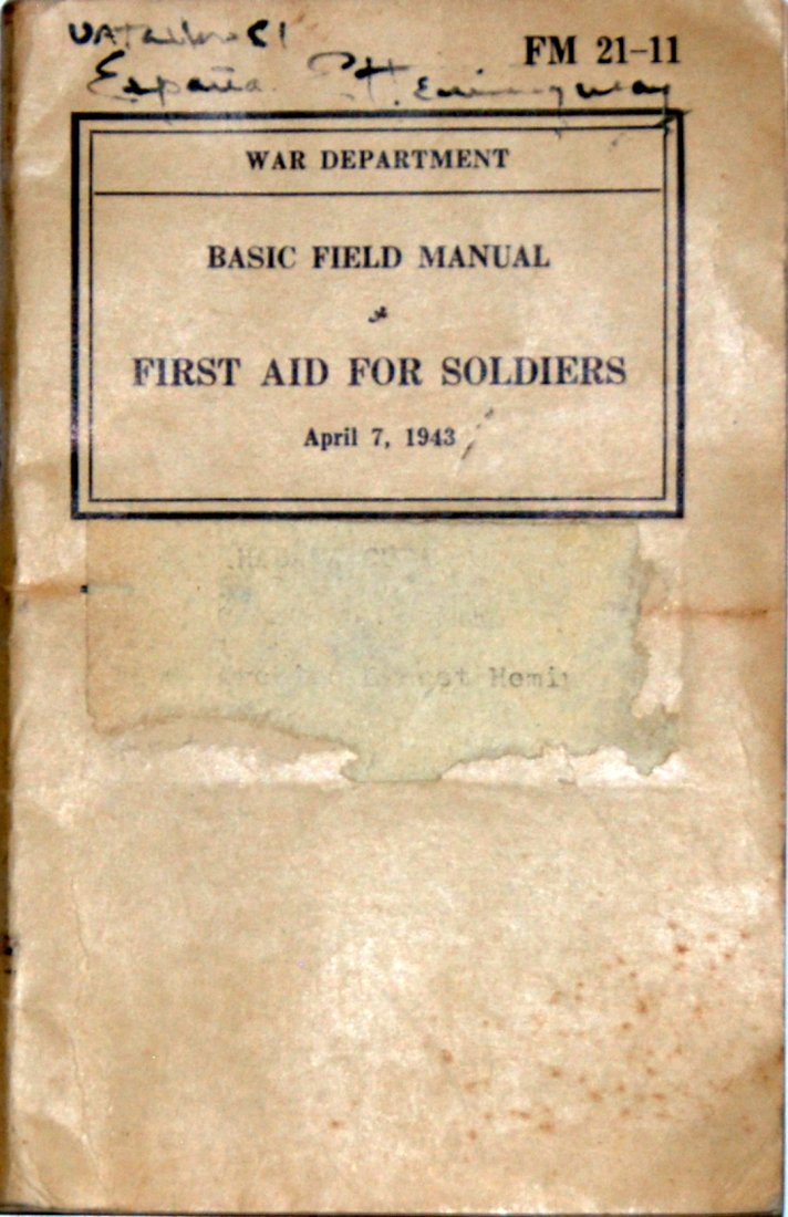 E. Hemingway: Basic Field Manual, Signed
