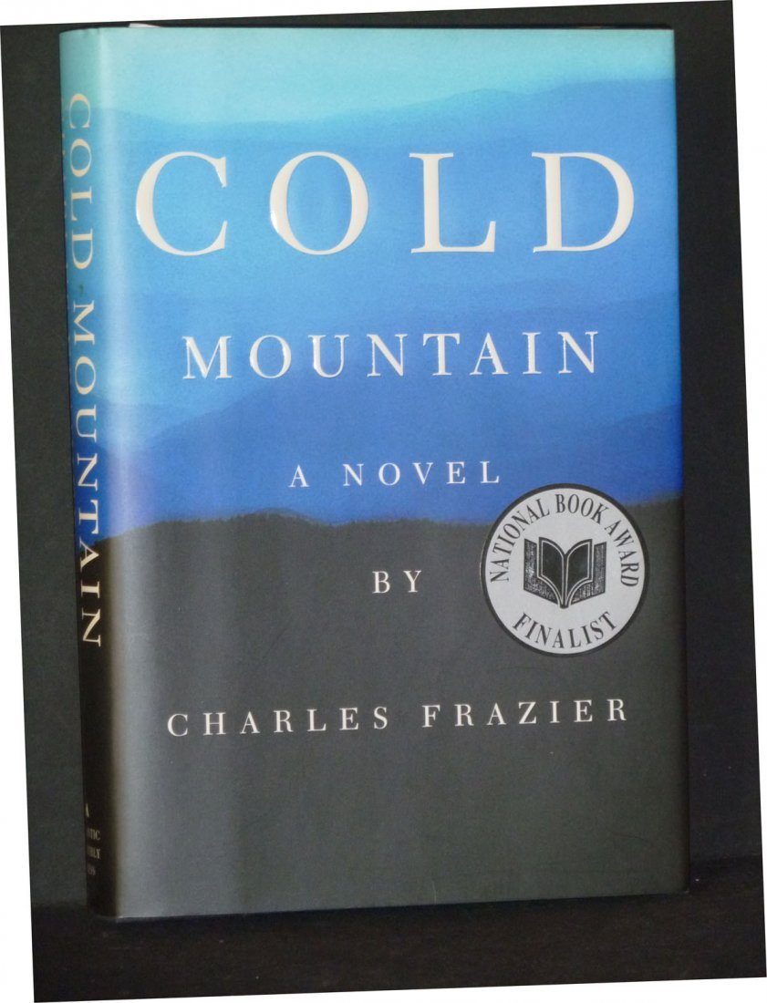 Cold Mountain by Charles Frazier, Signed
