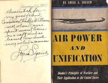 Air Power and Unification by Louis Sigaud, Signed