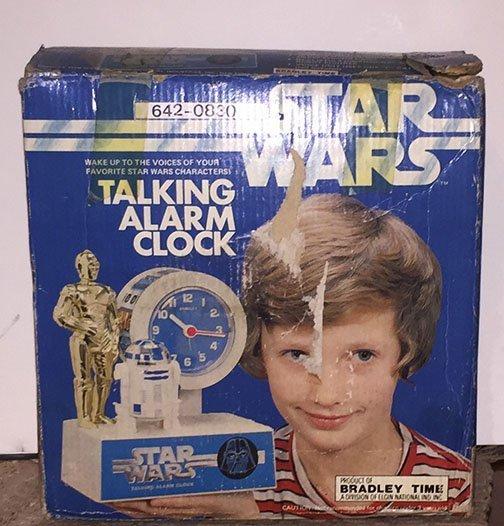 Star Wars Bradley Talking Alarm Clock