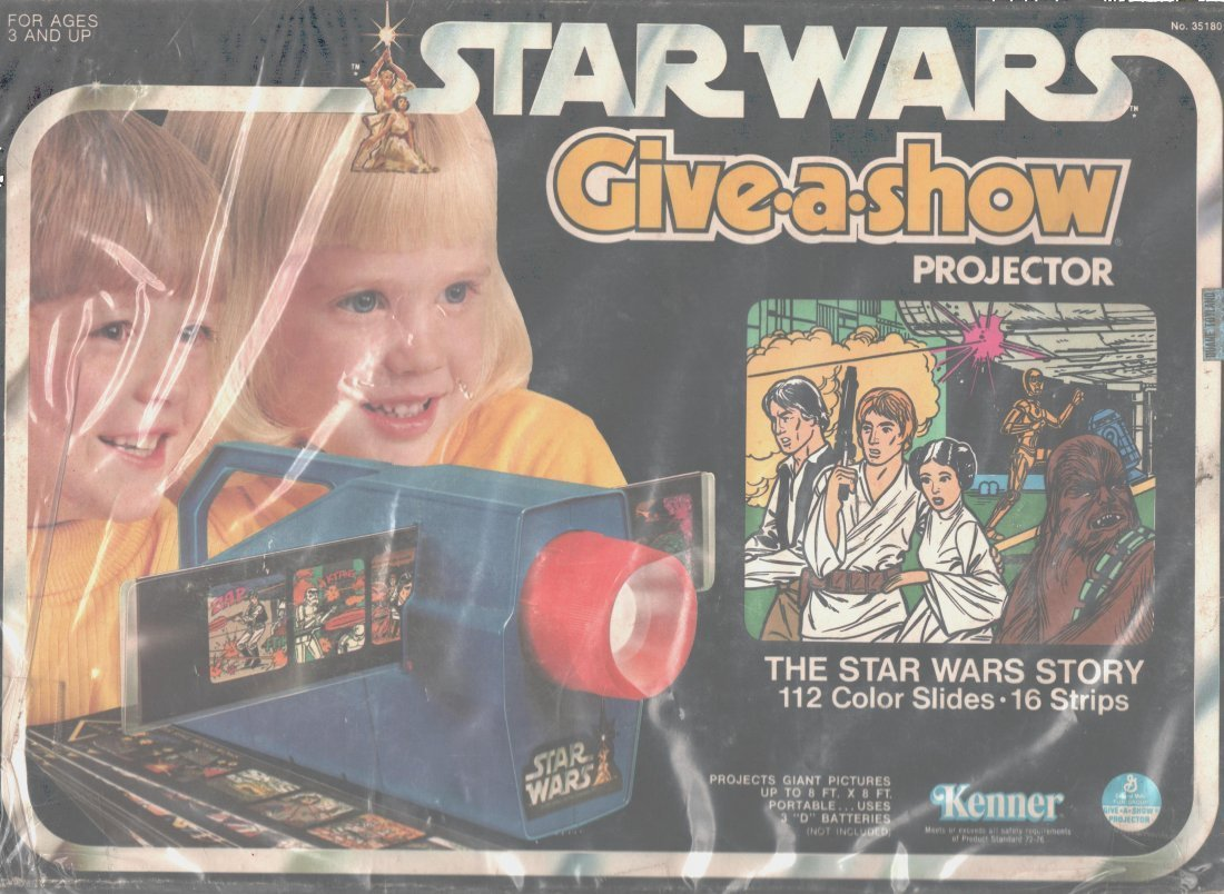 Star Wars Give-A-Show Toy Projector