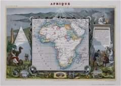 V. Levasseur: Afrique, 1856