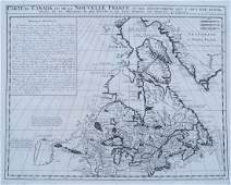 Carte du Canada ou de la Nouvelle France 1719