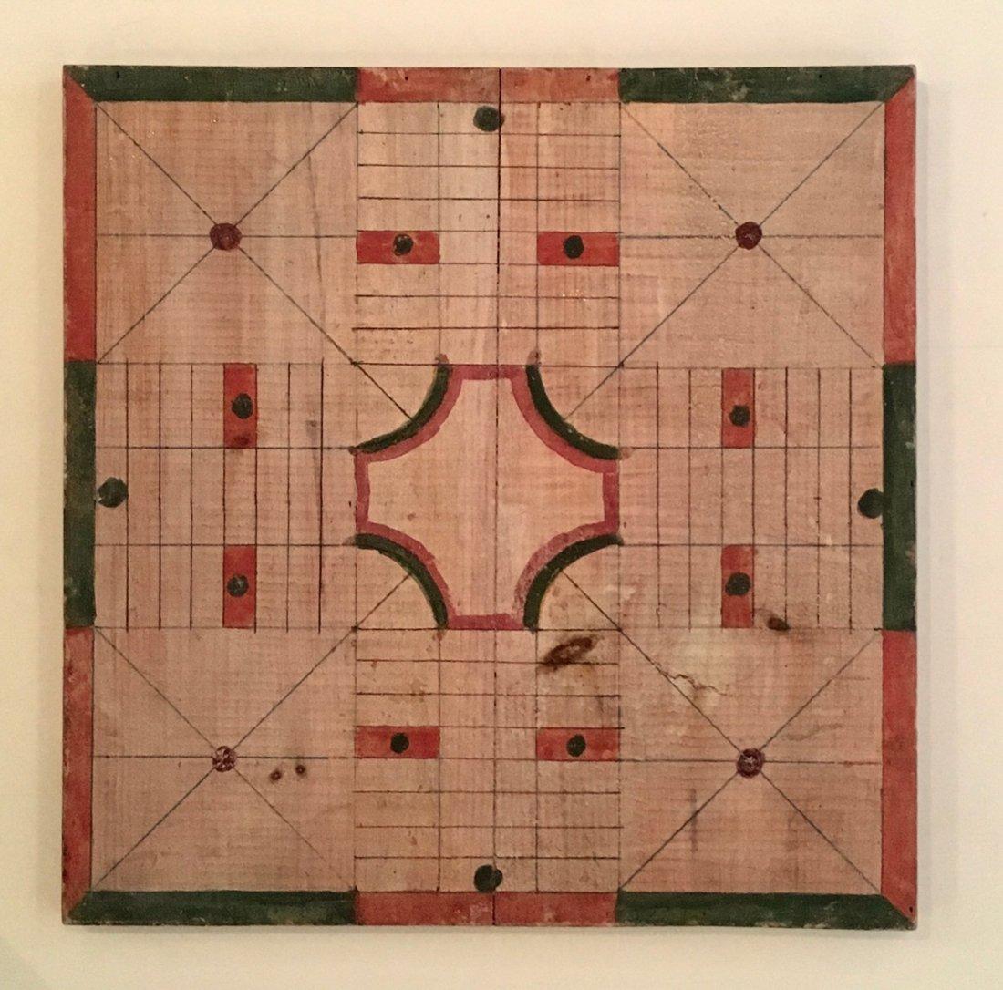 Parcheesi Game Board, 1900