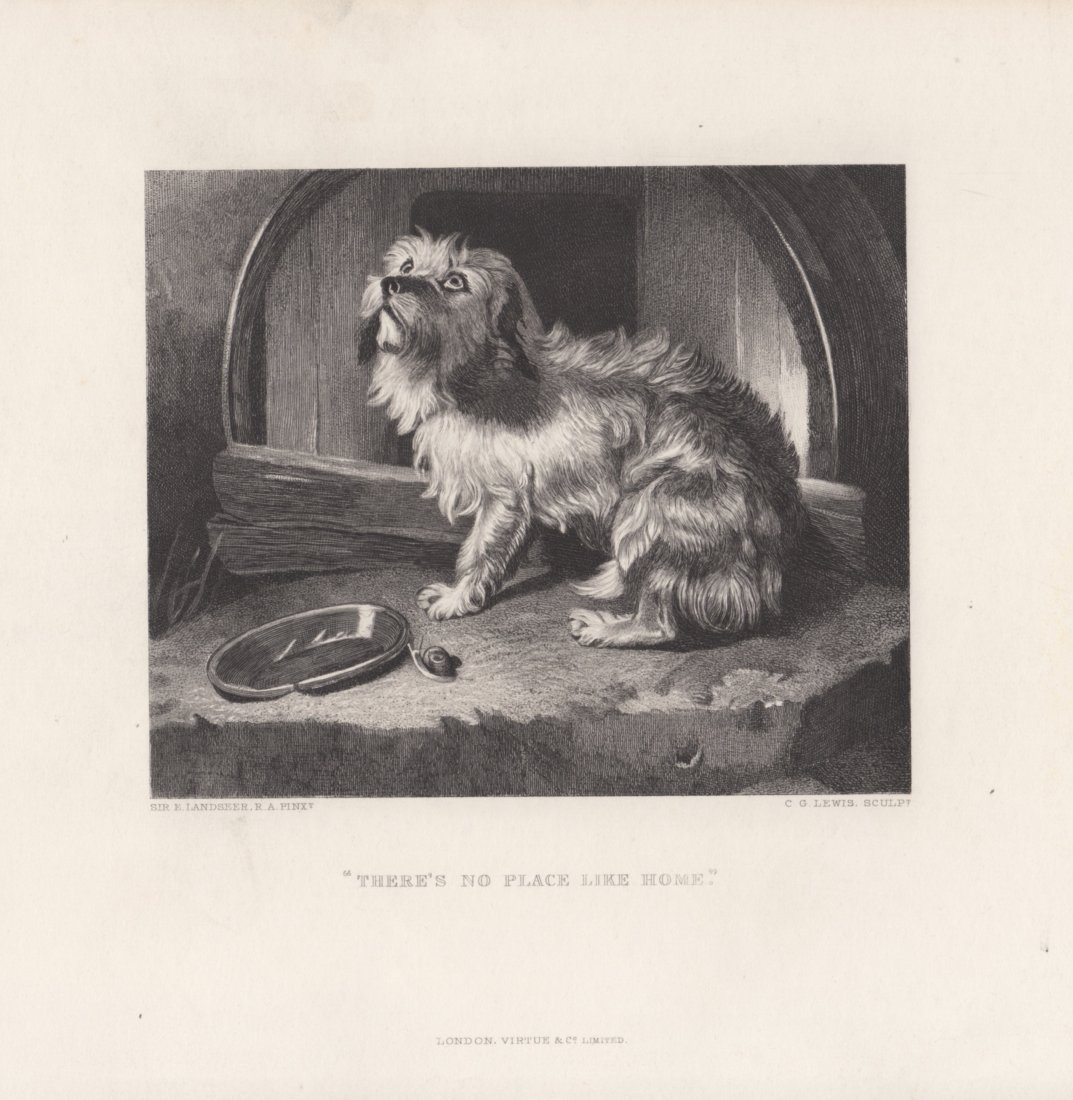Edwin Landseer: There's No Place Like Home, 1875