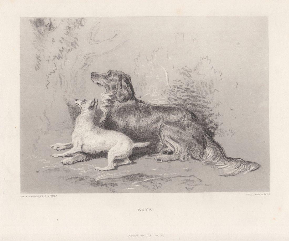 Edwin Landseer: Safe!, 1875