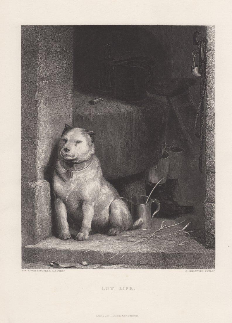 Edwin Landseer: Low Life, 1875