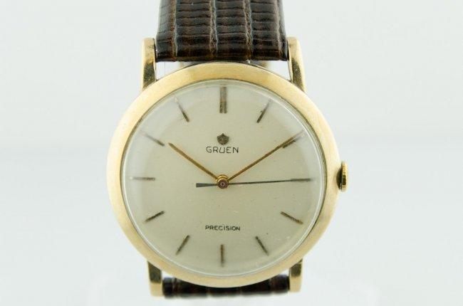 Gruen Men's Precision Manual Watch