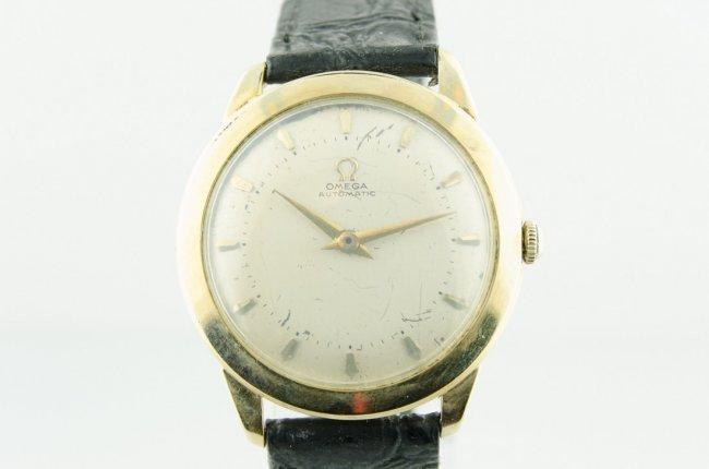 Omega 14K Gold Bumper Automatic Watch