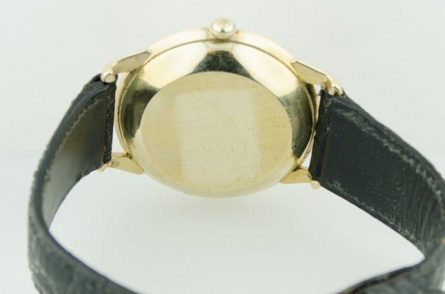 Omega 14K Gold Bumper Automatic Watch - 4