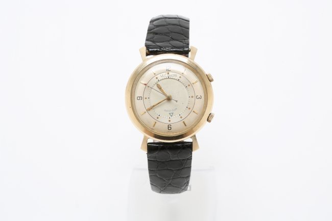 LeCoultre 10K Gold Filled Memovox Watch, 1950's