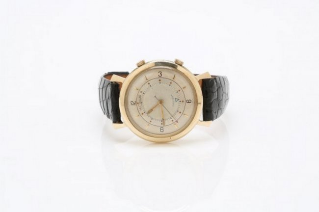 LeCoultre 10K Gold Filled Memovox Watch, 1950's - 3