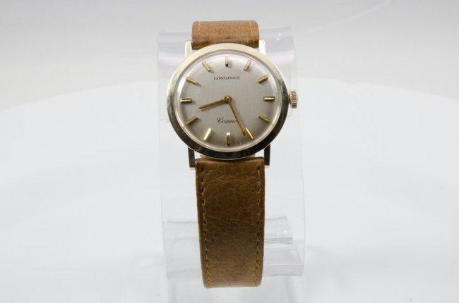 Longines 14K Gold GL Cosmo Watch