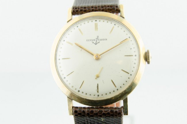 Ulysse Nardin 14K Solid Gold Watch