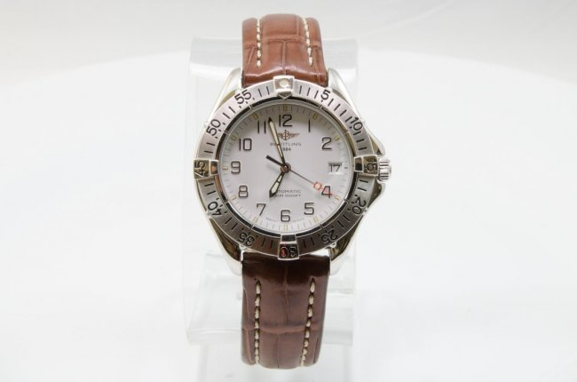 Breitling Stainless Steel Automatic Watch