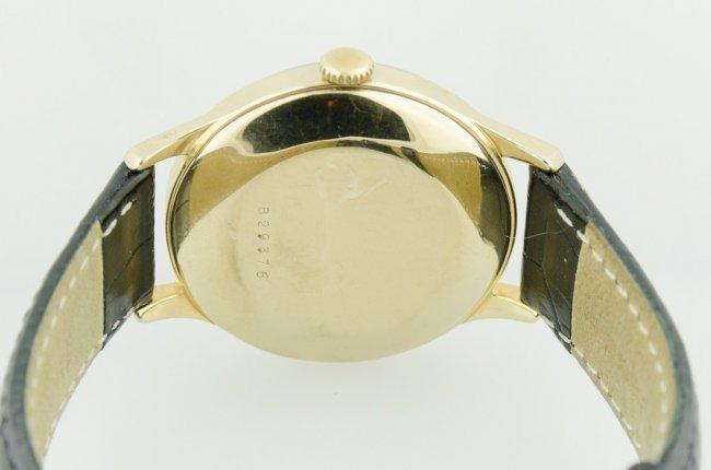 LeCoultre 14K Gold Case Watch - 4