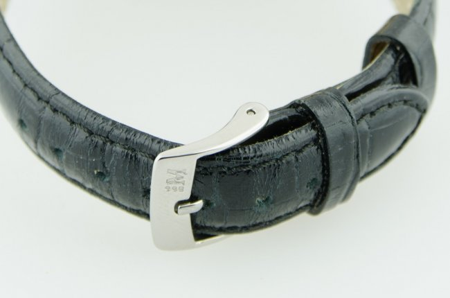 LeCoultre 14K Gold Case Watch - 5