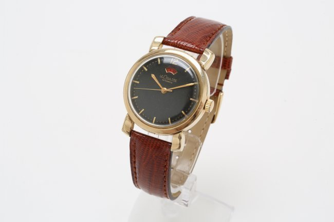 10K Gold Filled LeCoultre Watch, 1950's - 2
