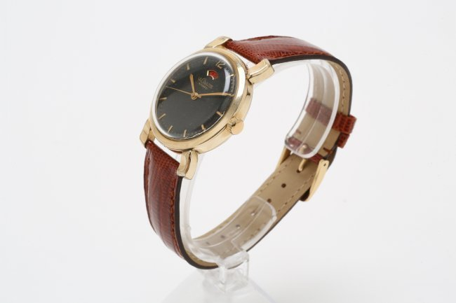 10K Gold Filled LeCoultre Watch, 1950's - 3