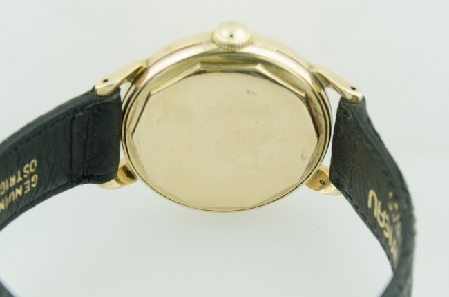Movado 14K Solid Gold Automatic Watch, 1950's - 4