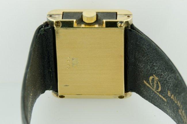 1 of a Kind Baume & Mercier Wood Watch - 4