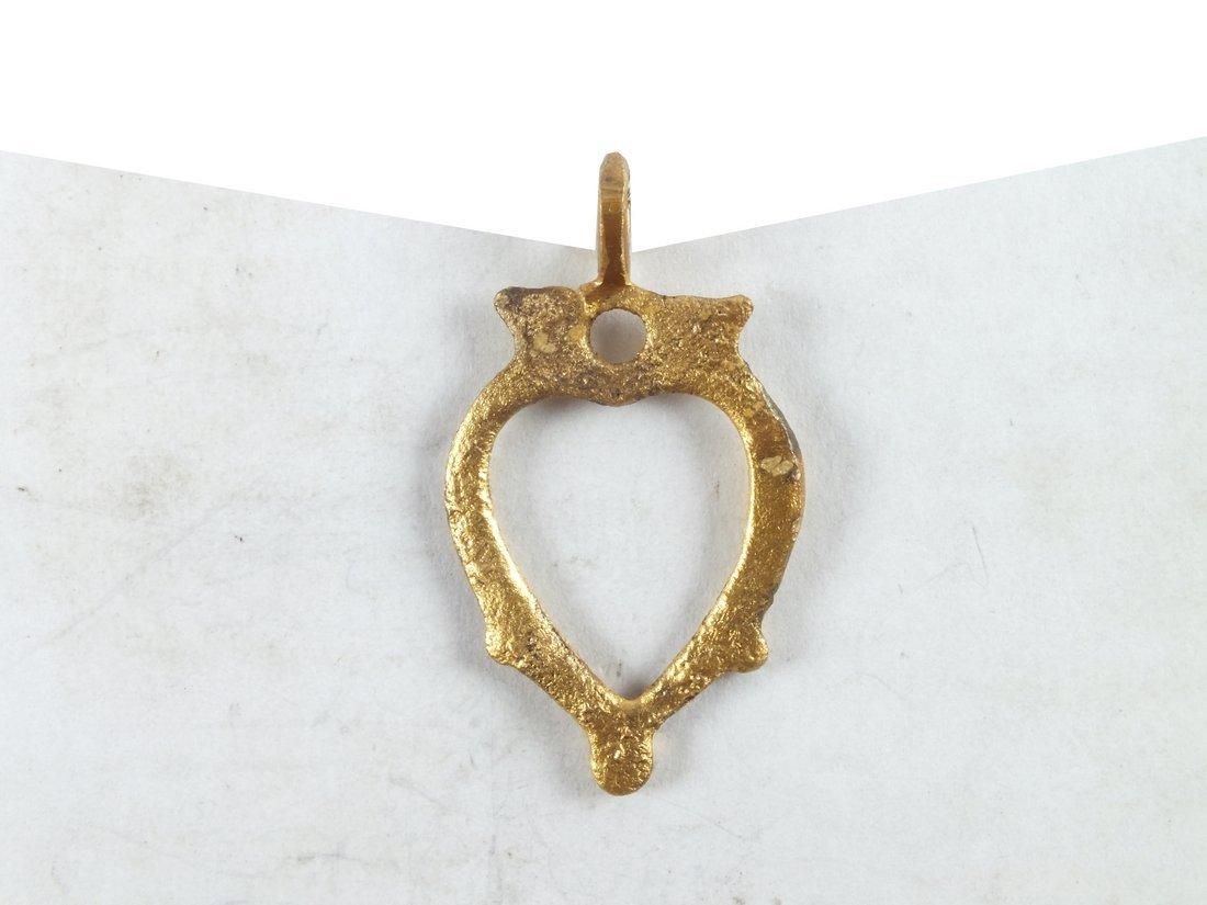 Viking Heart Pendant 850-950 A.D. - 2