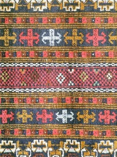Persian Balouch Rug 4.2x2.9 - 4