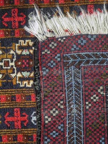 Persian Balouch Rug 4.2x2.9 - 5