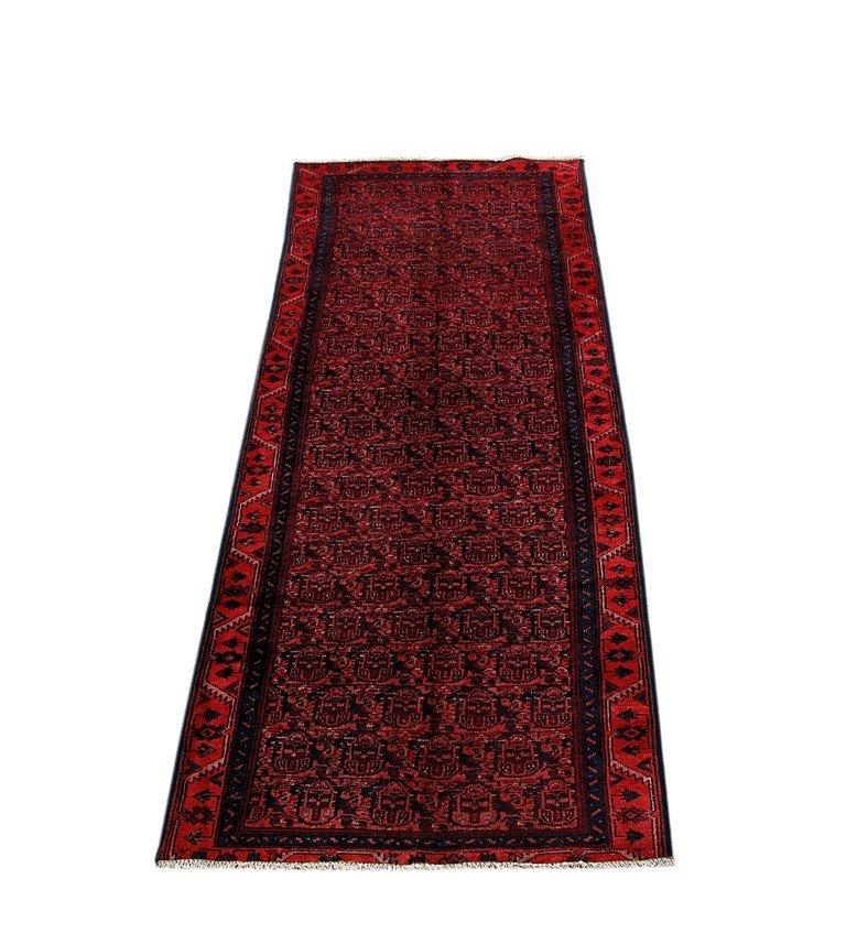 Persian Hamadan Runner Rug 3.3x9.8 - 2