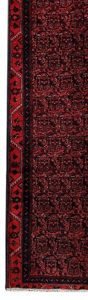 Persian Hamadan Runner Rug 3.3x9.8 - 3