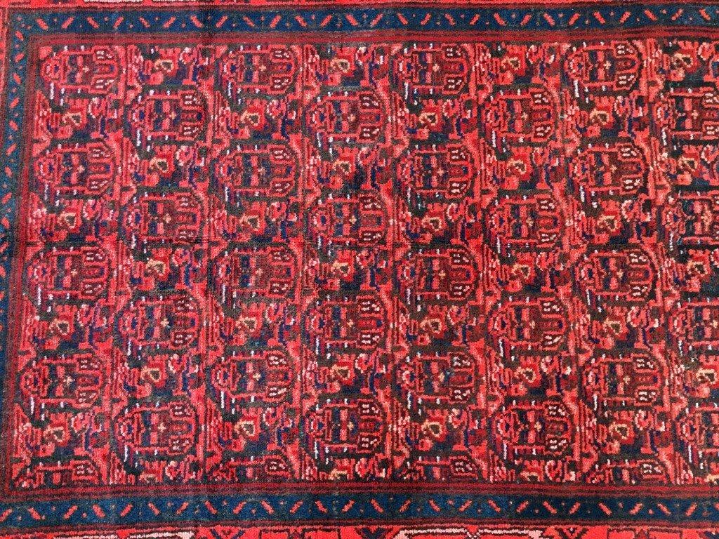 Persian Hamadan Runner Rug 3.3x9.8 - 5