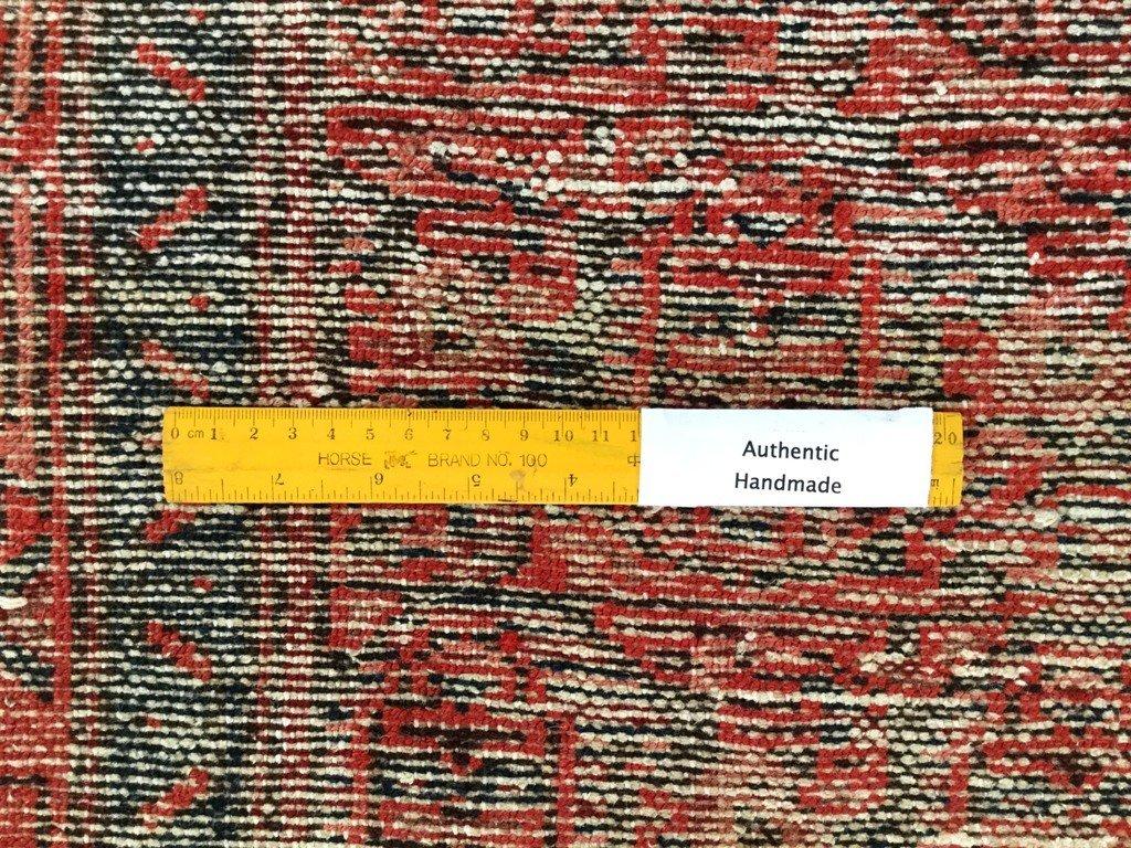 Persian Hamadan Runner Rug 3.3x9.8 - 6