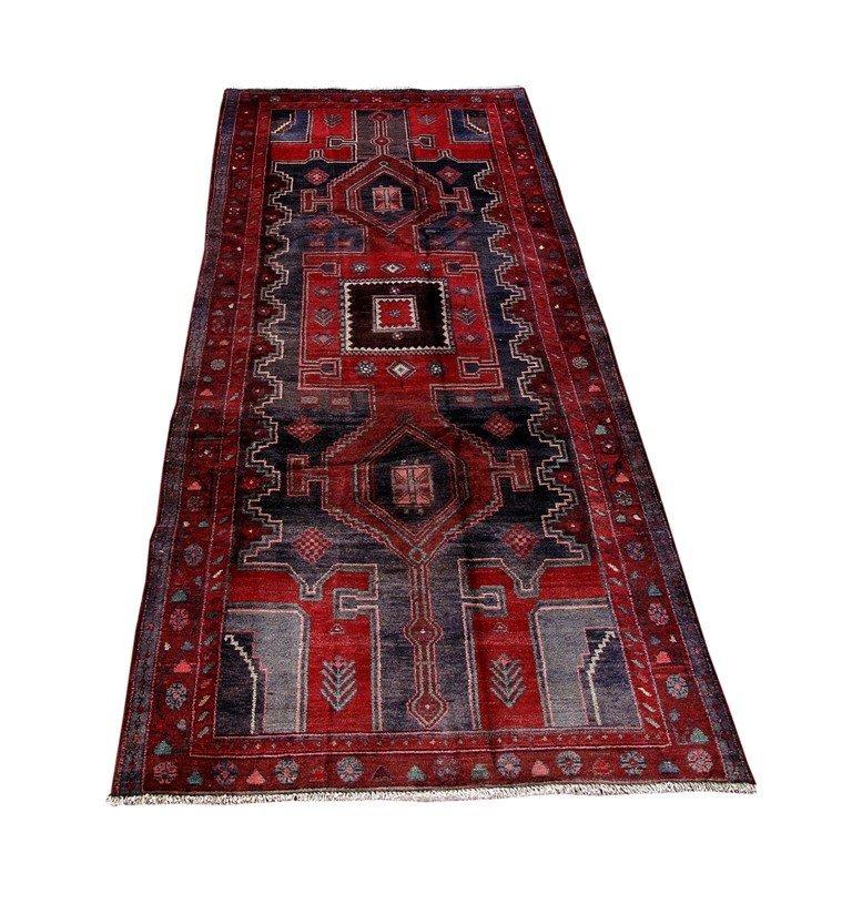 Persian Mahal Runner Rug 3.9x9.4 - 2