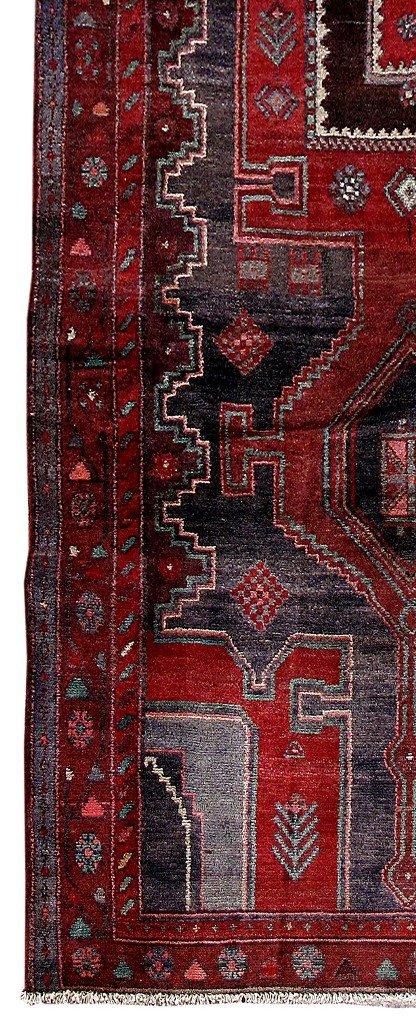 Persian Mahal Runner Rug 3.9x9.4 - 3