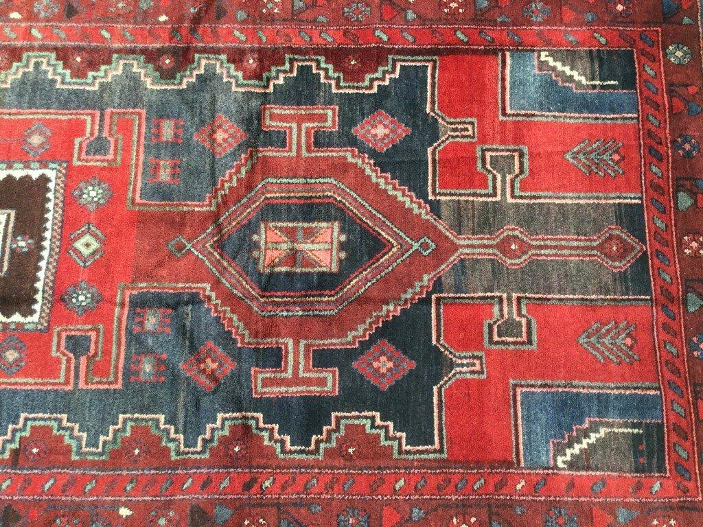 Persian Mahal Runner Rug 3.9x9.4 - 5