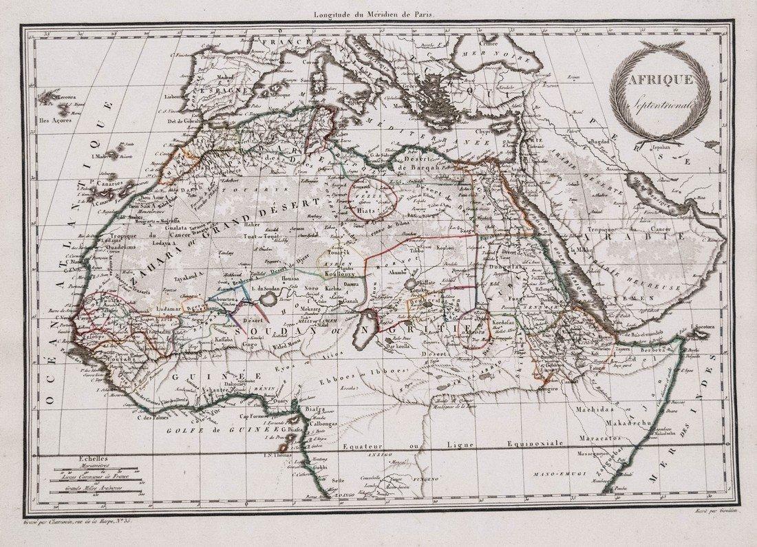 Malte-Brun: Afrique Septentionale, 1812