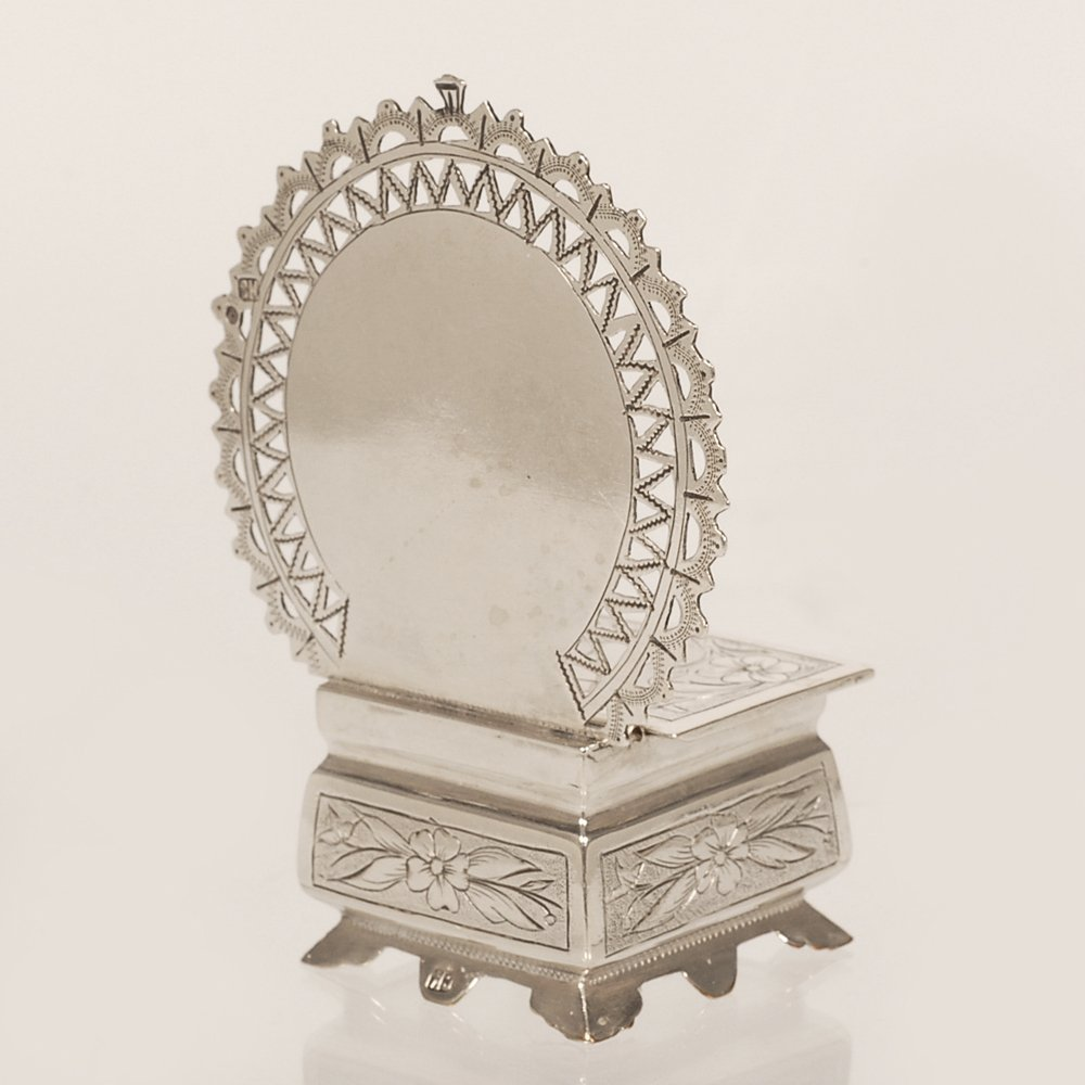 A Russian silver salt throne, Semen Kazakov, 1899-1908 - 4