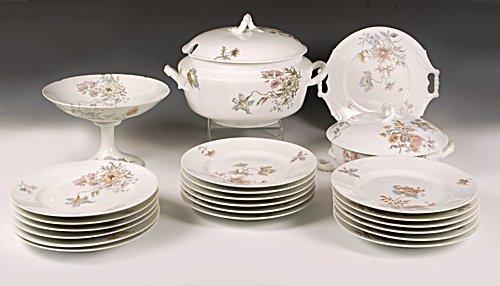 Kornilov Brothers 22pc Russian porcelain dinner service