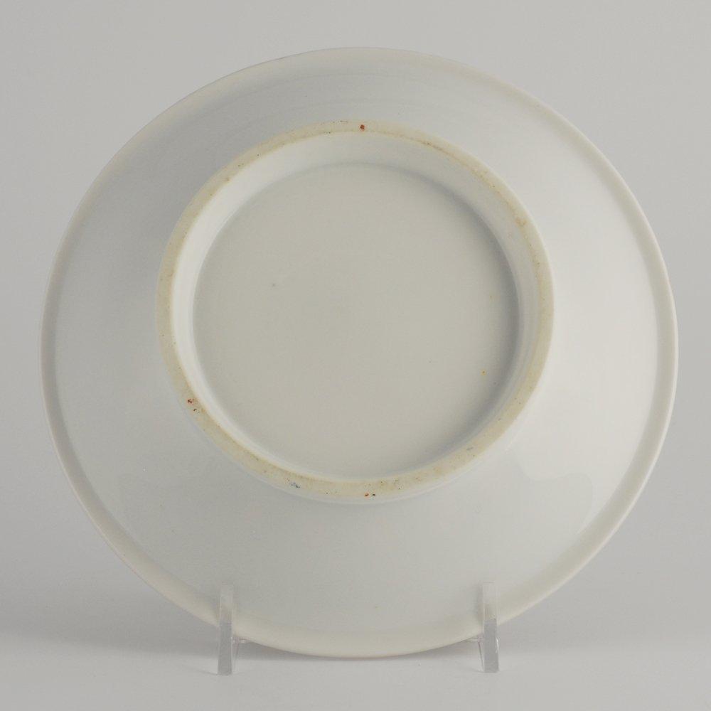 Porcelain cabinet cup & saucer, possibly Paris, c 1815 - 7