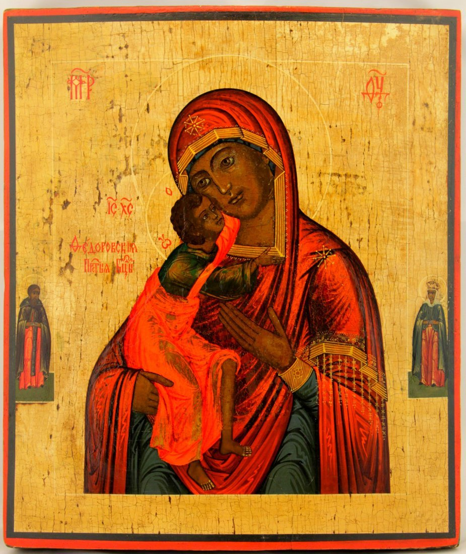 Our Lady of Fedorov Russian Icon, 1800