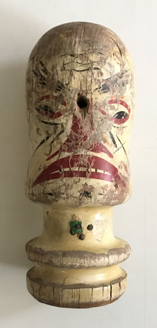 Early 20th C Carnival Knockdown Head