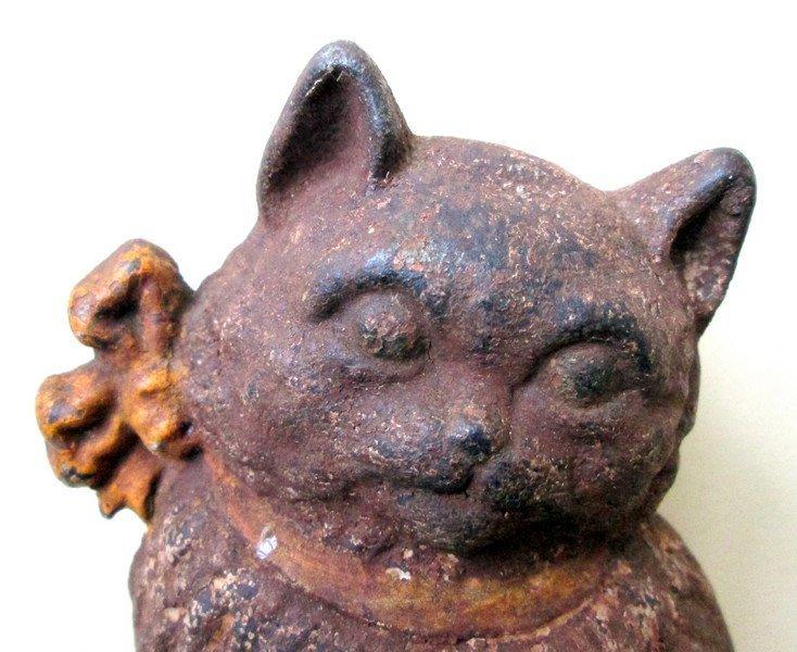 Cat With Bow Doorstop, 1920 - 7