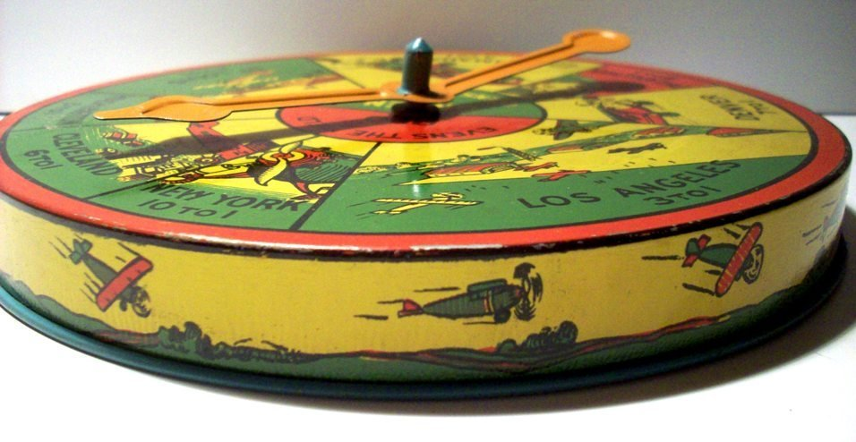 Spirit of St. Louis Transcontinental Spinner Game, 1925 - 2