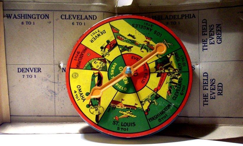 Spirit of St. Louis Transcontinental Spinner Game, 1925 - 6