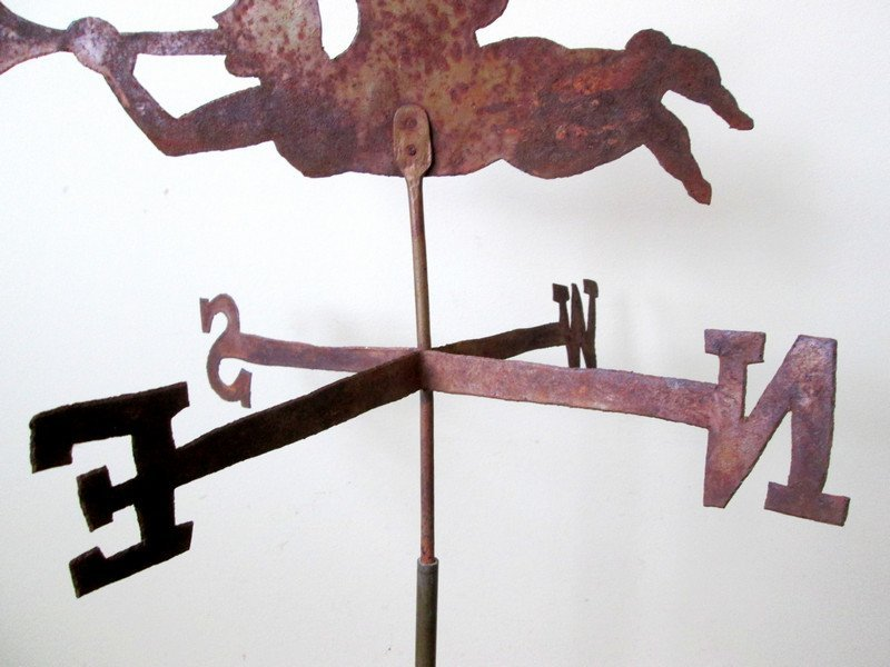 Gabriel Blowing Horn Weathervane, 1900 - 6