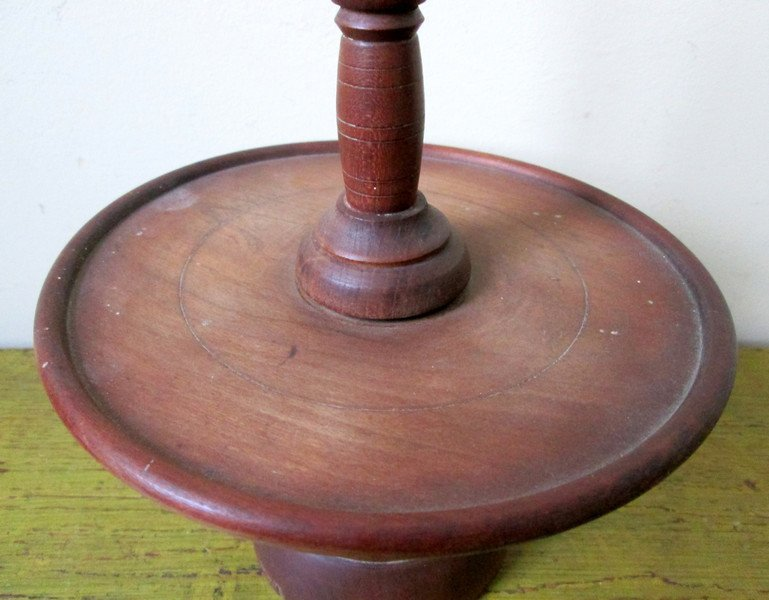 Late 18th C Miniature Lazy Susan - 3